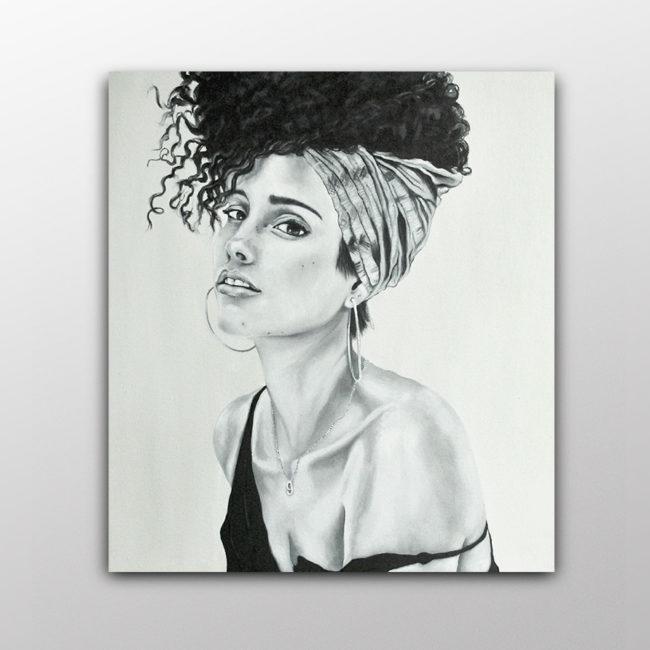 Exposición. Feminismo. Empoderamiento. Mujeres. Música. Pintora. Artista Plástica. Laia Amàrita. Barcelona