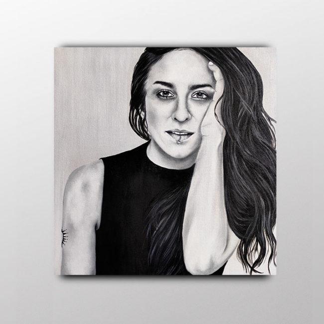 Exposición. Feminismo. Artista. Cantante. Española. Laia Amàrita. Barcelona.