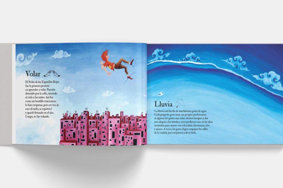 Libro ilustrado Dinge, von denen niemand por la Editorial Àbac