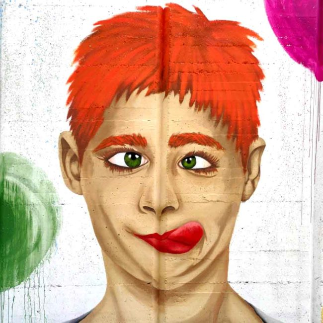 Arte Mural. Arte Pictórico. Arte Urbano. Arte Realista. Emociones. Artista. Ilustradora. Laia Amàrita. Barcelona